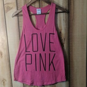 Pink Victoria's Secret tabk top